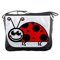 Lady Bug Clip Art Drawing Messenger Bags