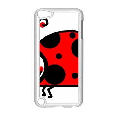 Lady Bug Clip Art Drawing Apple Ipod Touch 5 Case (white)