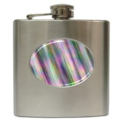 Gradient With Resynthetize Texture Hip Flask (6 Oz)