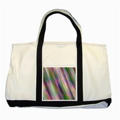 Gradient With Resynthetize Texture Two Tone Tote Bag