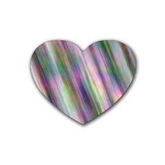 Gradient With Resynthetize Texture Heart Coaster (4 Pack)