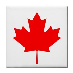 Flag Of Canada Tile Coasters by goodart