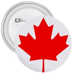 Flag Of Canada 3  Buttons by goodart