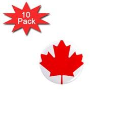 Flag Of Canada 1  Mini Magnet (10 Pack)