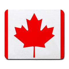 Flag Of Canada Large Mousepads