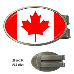 Flag Of Canada Money Clips (oval)