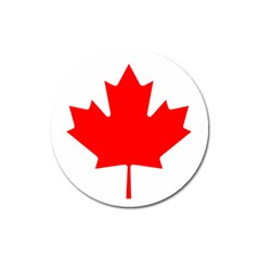 Flag Of Canada Magnet 3  (round) by goodart