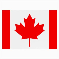 Flag Of Canada Large Glasses Cloth by goodart
