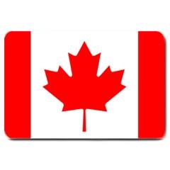Flag Of Canada Large Doormat  by goodart