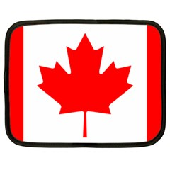 Flag Of Canada Netbook Case (large)