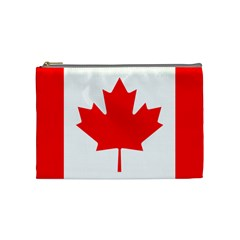 Flag Of Canada Cosmetic Bag (medium)  by goodart
