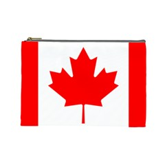 Flag Of Canada Cosmetic Bag (large)