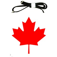 Flag Of Canada Shoulder Sling Bags by goodart