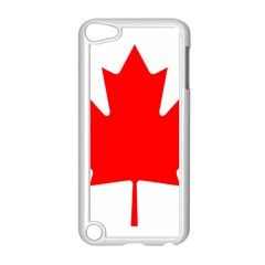 Flag Of Canada Apple Ipod Touch 5 Case (white)