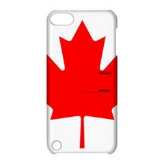Flag Of Canada Apple Ipod Touch 5 Hardshell Case With Stand
