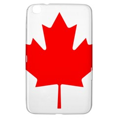 Flag Of Canada Samsung Galaxy Tab 3 (8 ) T3100 Hardshell Case  by goodart