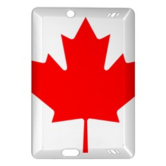 Flag Of Canada Amazon Kindle Fire Hd (2013) Hardshell Case by goodart