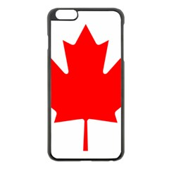 Flag Of Canada Apple Iphone 6 Plus/6s Plus Black Enamel Case by goodart