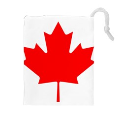 Flag Of Canada Drawstring Pouches (extra Large)