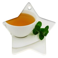 Tea Star Ornament (two Sides)