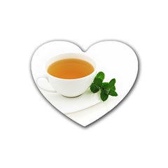 Tea Rubber Coaster (heart)