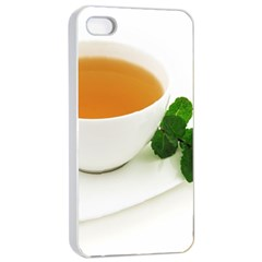 Tea Apple Iphone 4/4s Seamless Case (white)