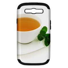 Tea Samsung Galaxy S Iii Hardshell Case (pc+silicone)