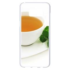 Tea Samsung Galaxy S8 Plus White Seamless Case