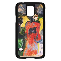 Road To The Mountains Samsung Galaxy S5 Case (black)