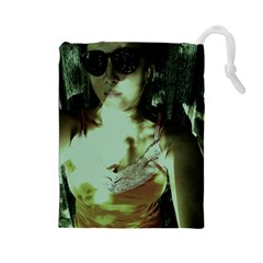 Selfy In A Shades Drawstring Pouches (large)