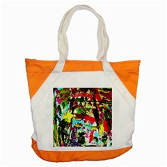 No Warrant For Blossoming Corner Accent Tote Bag