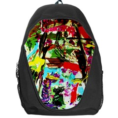 No Warrant For Blossoming Corner Backpack Bag