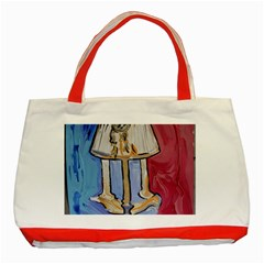 Day And Night Classic Tote Bag (red)