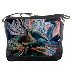 Night Lillies Messenger Bags