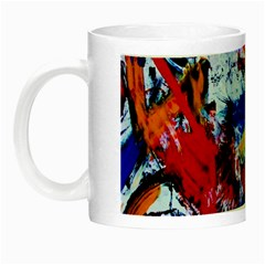 Mixed Feelings Night Luminous Mugs by bestdesignintheworld