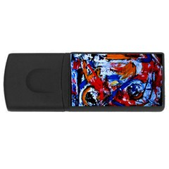Mixed Feelings Rectangular Usb Flash Drive by bestdesignintheworld