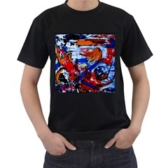 Mixed Feelings Men s T Shirt (black)