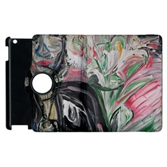 Lady With Lillies Apple Ipad 3/4 Flip 360 Case