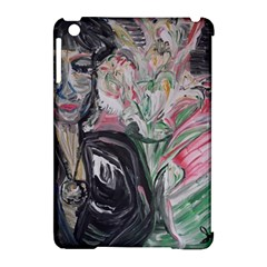 Lady With Lillies Apple Ipad Mini Hardshell Case (compatible With Smart Cover)
