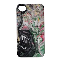 Lady With Lillies Apple Iphone 4/4s Hardshell Case With Stand by bestdesignintheworld