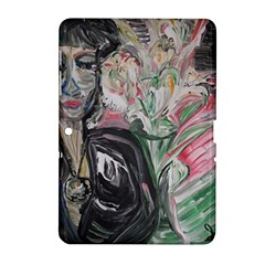 Lady With Lillies Samsung Galaxy Tab 2 (10 1 ) P5100 Hardshell Case