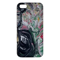 Lady With Lillies Iphone 5s/ Se Premium Hardshell Case