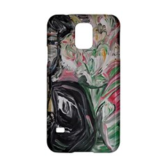 Lady With Lillies Samsung Galaxy S5 Hardshell Case