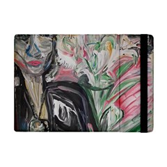Lady With Lillies Ipad Mini 2 Flip Cases
