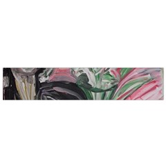 Lady With Lillies Small Flano Scarf