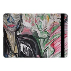 Lady With Lillies Apple Ipad Pro 10 5   Flip Case