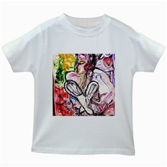 Every Girl Has A Dream Kids White T Shirts by bestdesignintheworld