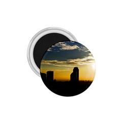 Skyline Sunset Buildings Cityscape 1 75  Magnets