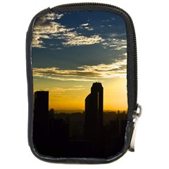 Skyline Sunset Buildings Cityscape Compact Camera Cases