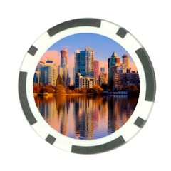 Vancouver Canada Sea Ocean Poker Chip Card Guard